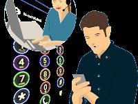 Membuat | Memasang Link ke No Telepon bisa Langsung Call dan Sms
