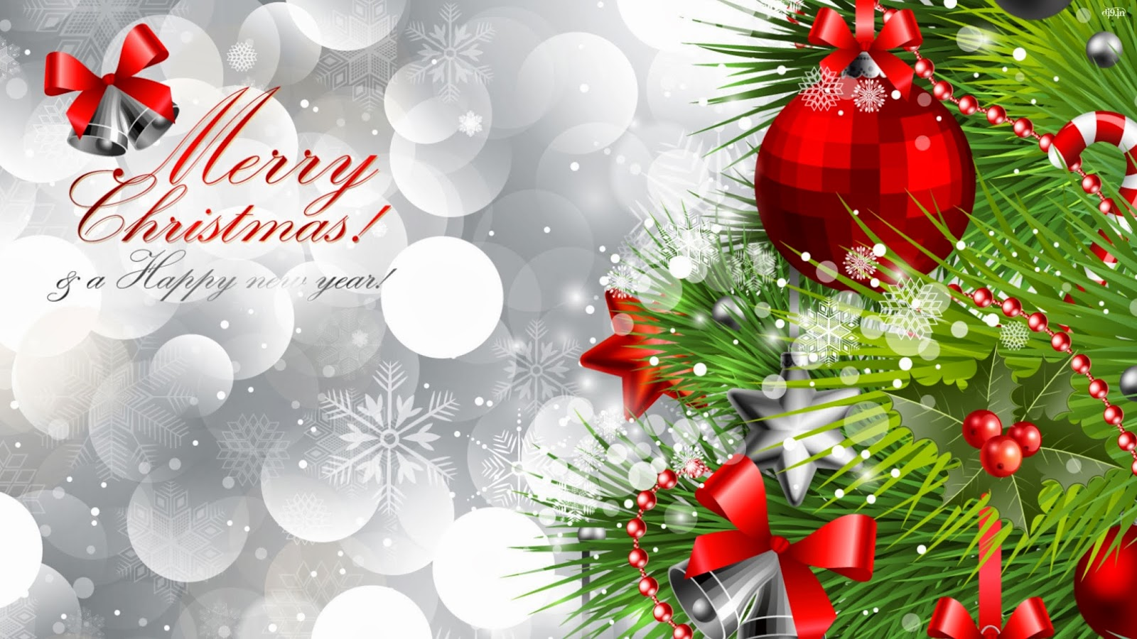 merry christmas and happy new year 2014 free wallpapers