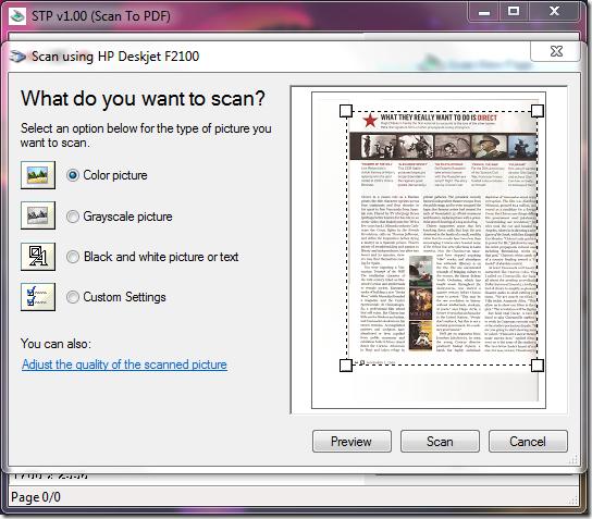 Scan To Pdf Stp 1 50 Free Download: Thaifreewaredownload