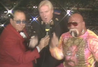 WWE/WWF SUMMERSLAM 1998: Bobby 'The Brain' Heenan invades the commentary booth