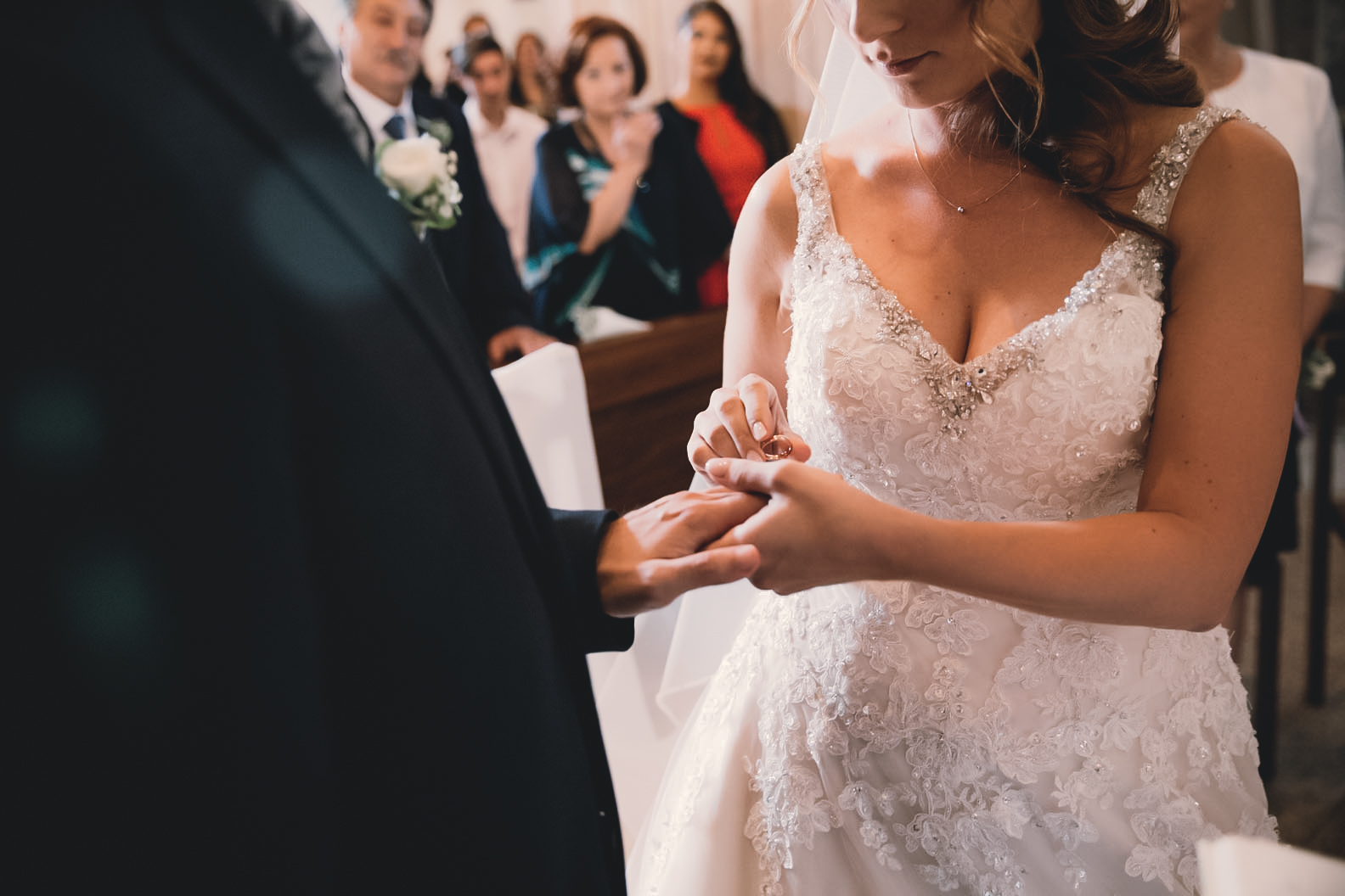 Scambio fedi matrimonio religioso