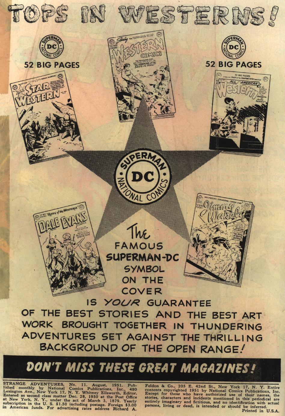 Strange Adventures (1950) issue 11 - Page 2