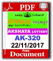 keralalotteries, kerala lottery, keralalotteryresult, kerala lottery result, kerala lottery result live, kerala lottery results, kerala lottery today, kerala lottery result today, kerala lottery results today, today kerala lottery result, kerala lottery result 22-11-2017akshaya lottery ak320, akshaya lottery, akshaya lottery today result, akshaya lottery result yesterday, akshaya lottery ak-320, akshaya lottery 22.11.2017