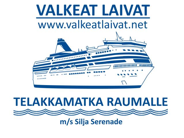 on laiva valmiina lähtöön ruotsiksi