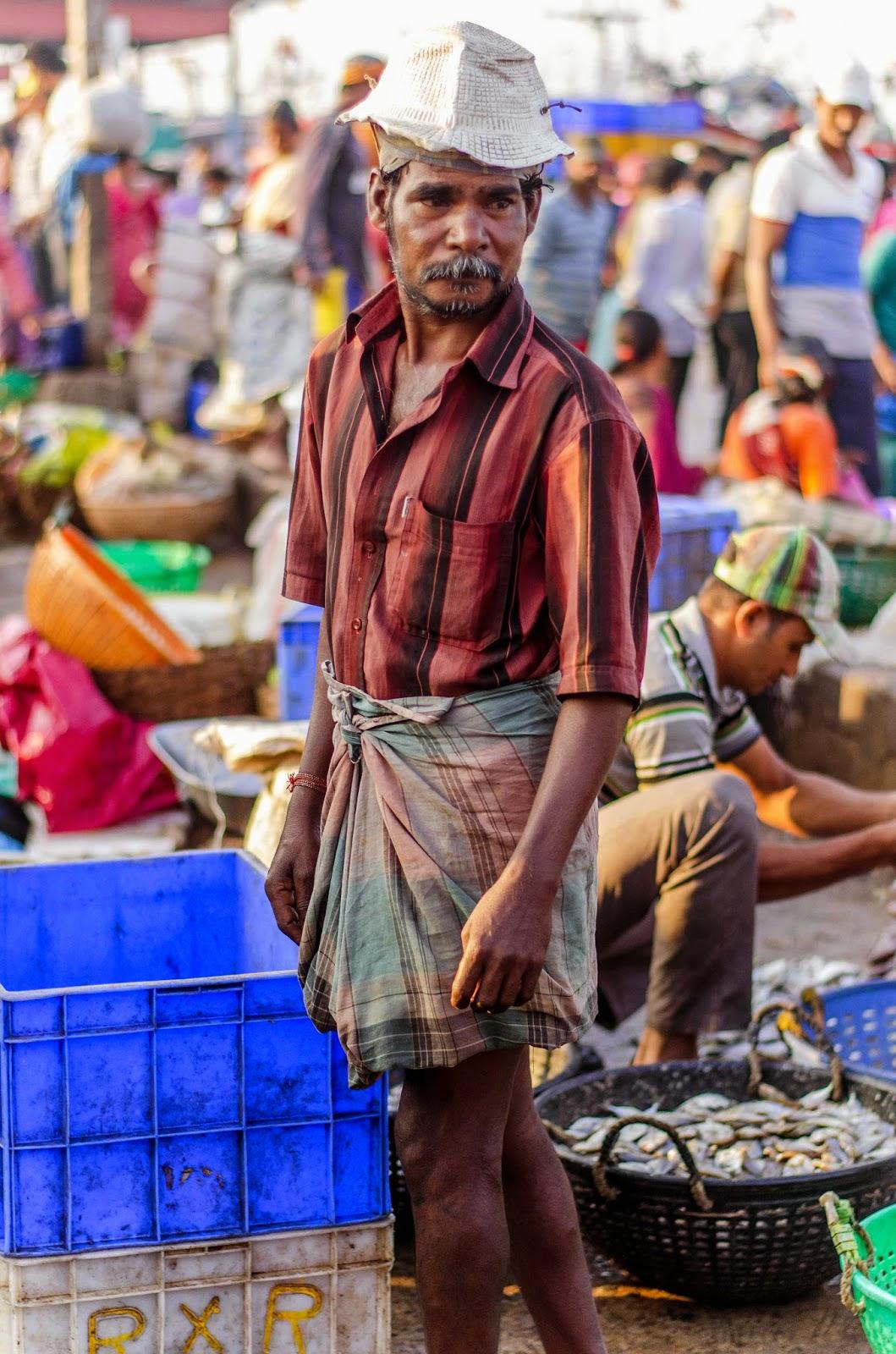Fish Market in Mangalore