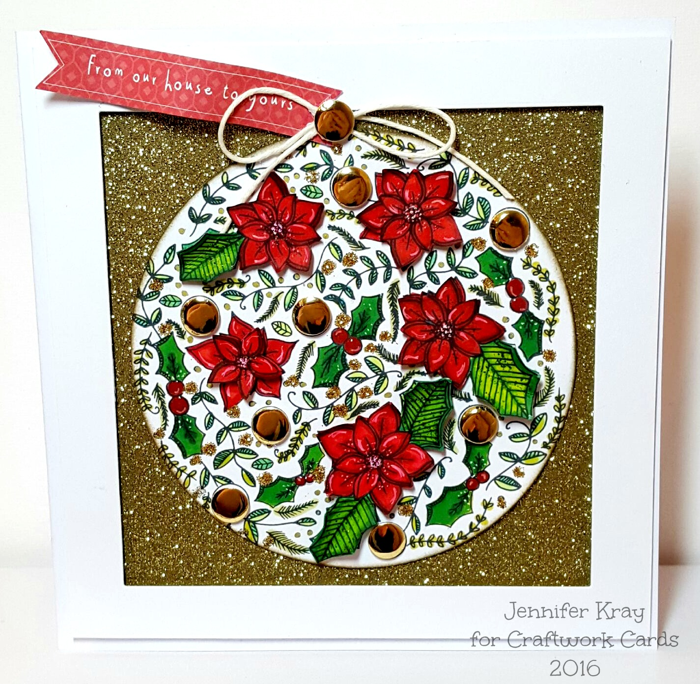 The Christmas Card, A History! | Jennifer Kray - Paper and Stuff