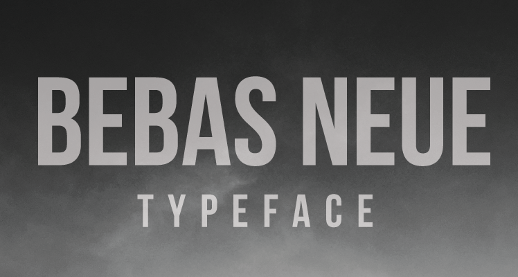 Bebas Neue Free Font Preview
