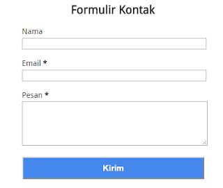 Formulir Kontak