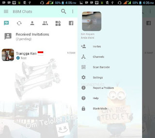 BBM Mod Clone OM TELOLET OM v3.2.0.6 Apk Terbaru