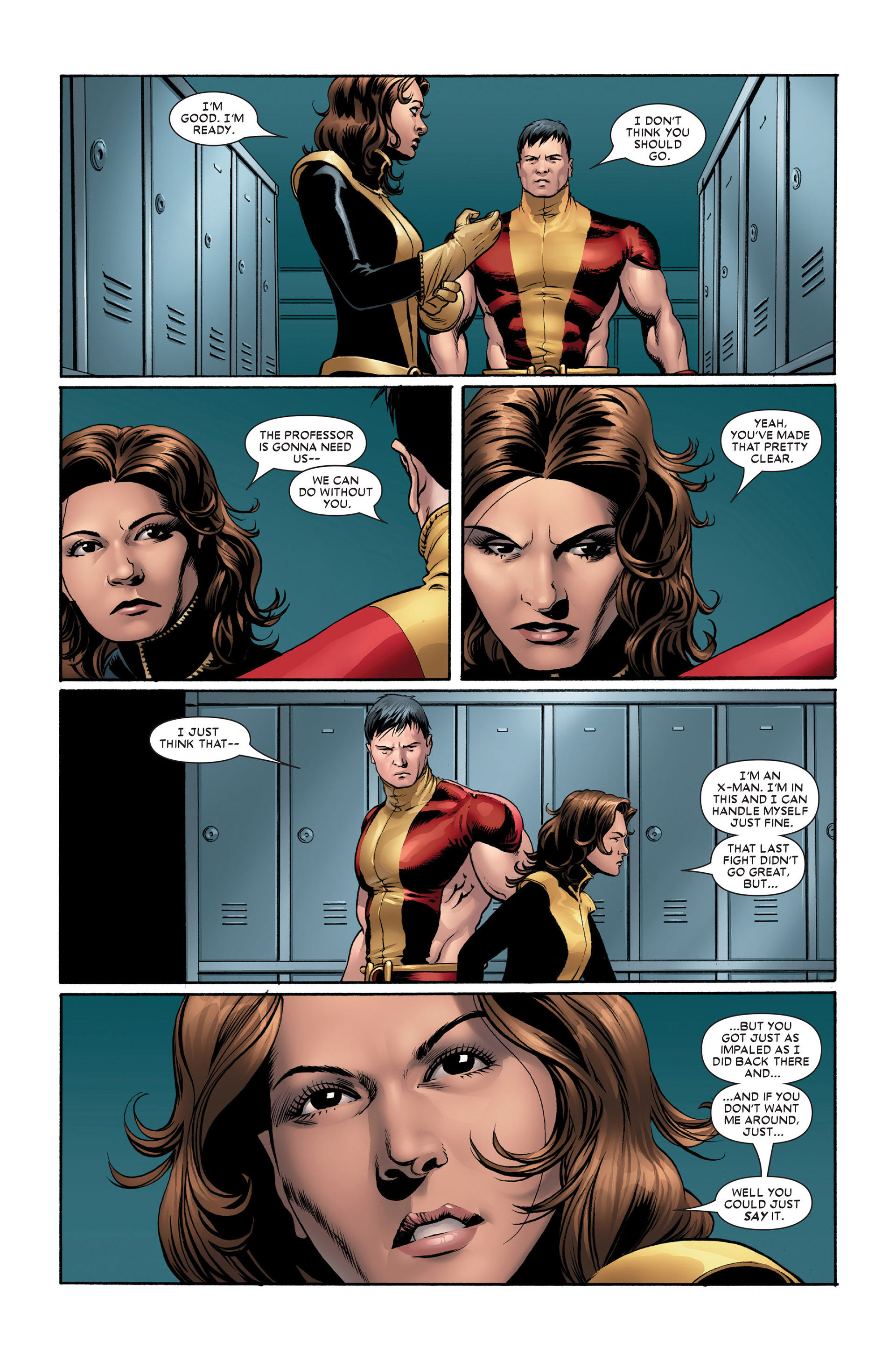Read online Astonishing X-Men (2004) comic -  Issue #11 - 14