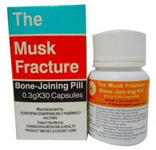 Jual BONKAP The Musk Fracture Bone Joining Pill di Surabaya