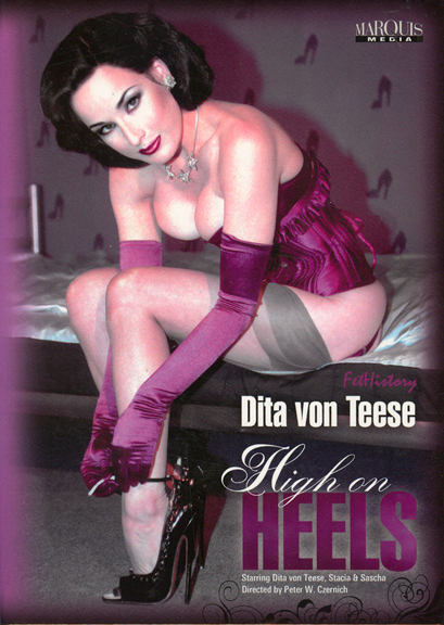 Dita Von Teese High On Heels