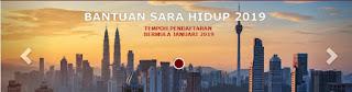 Bantuan Sara Hidup BSH 2019