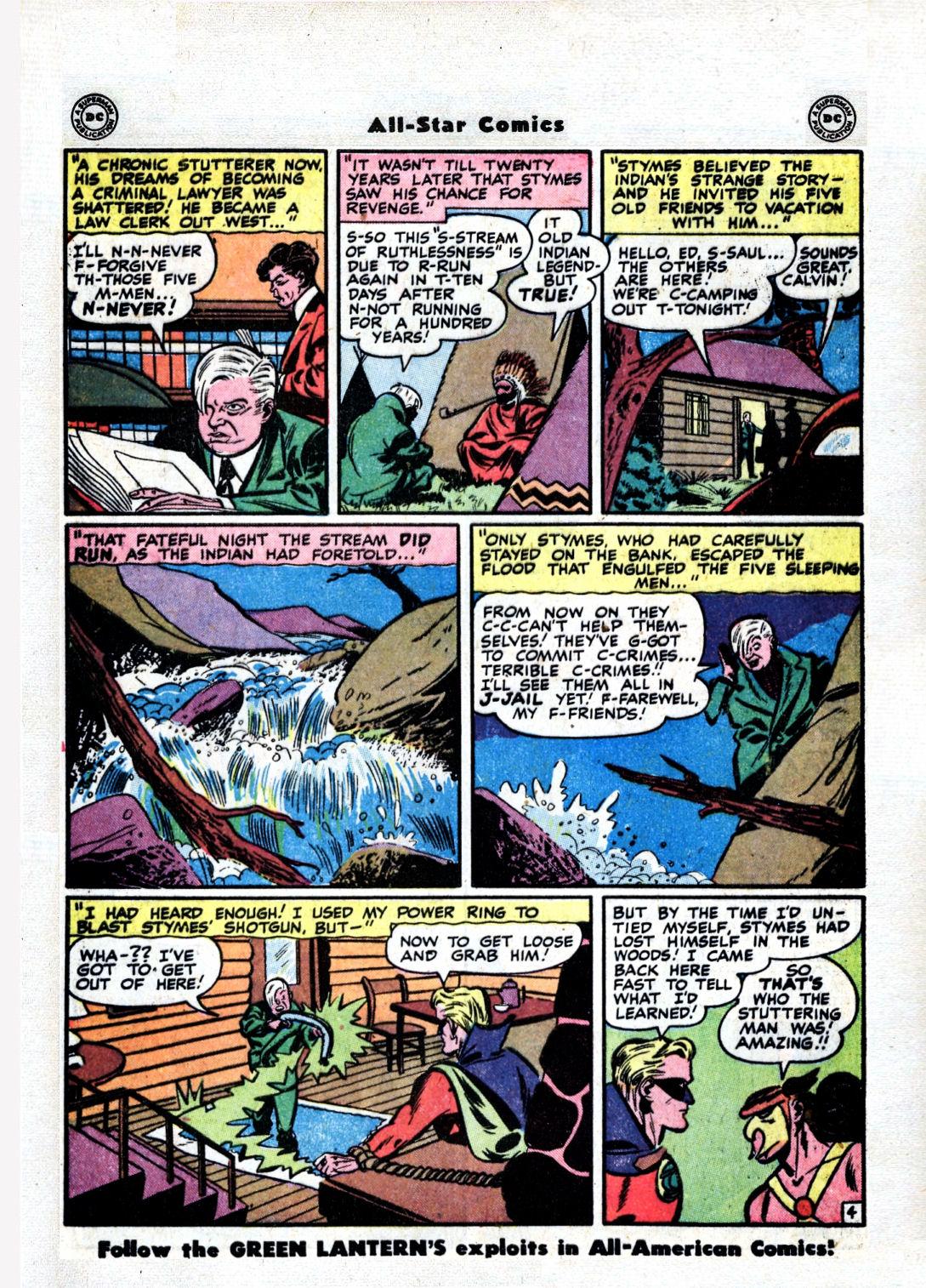 Read online All-Star Comics comic -  Issue #36 - 46