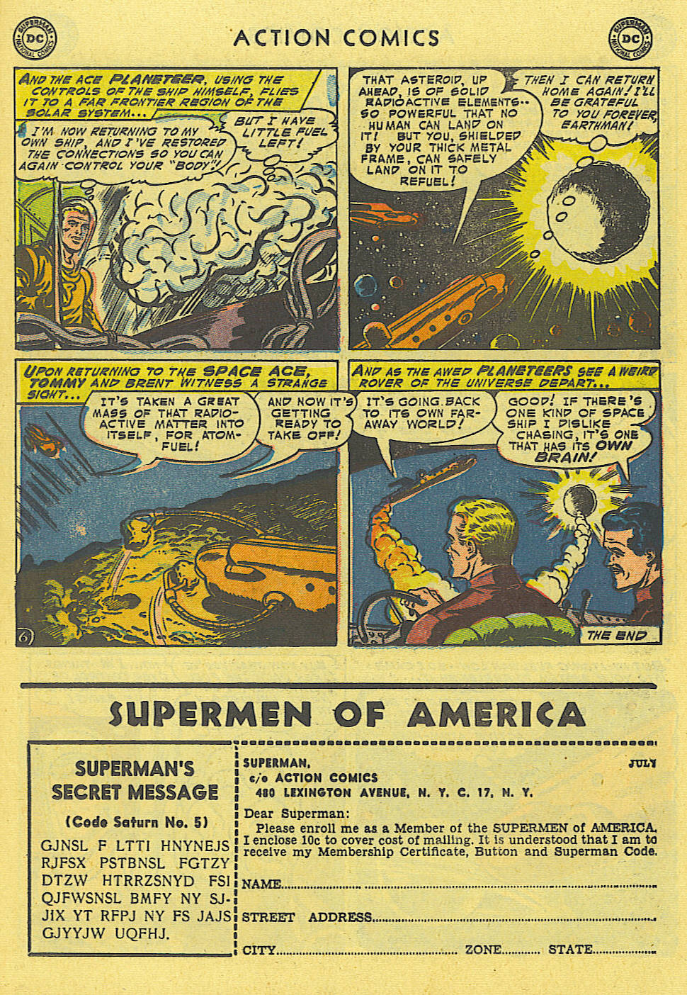 Read online Action Comics (1938) comic -  Issue #194 - 25