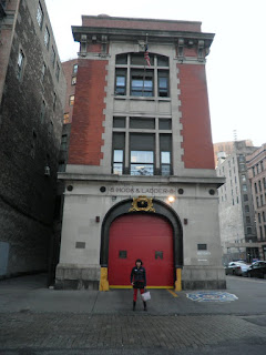 Hook and Ladder 8 a TriBeCa, New York