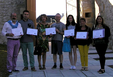Alumnos del curso de escritura creativa de Santander, 2016