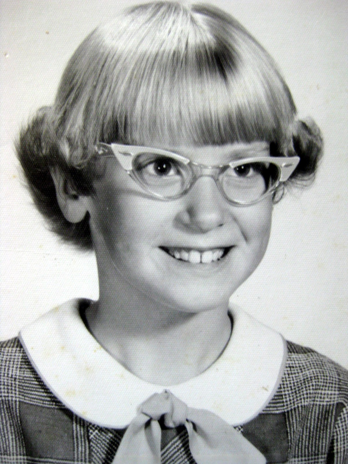 glasses she