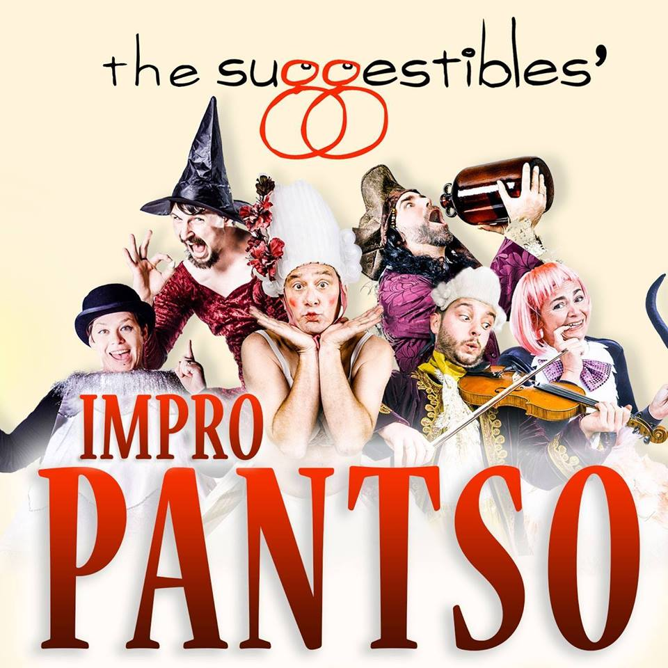 A guide to the best pantomimes in the North East 2016 - The Suggestibles Impro Pantso