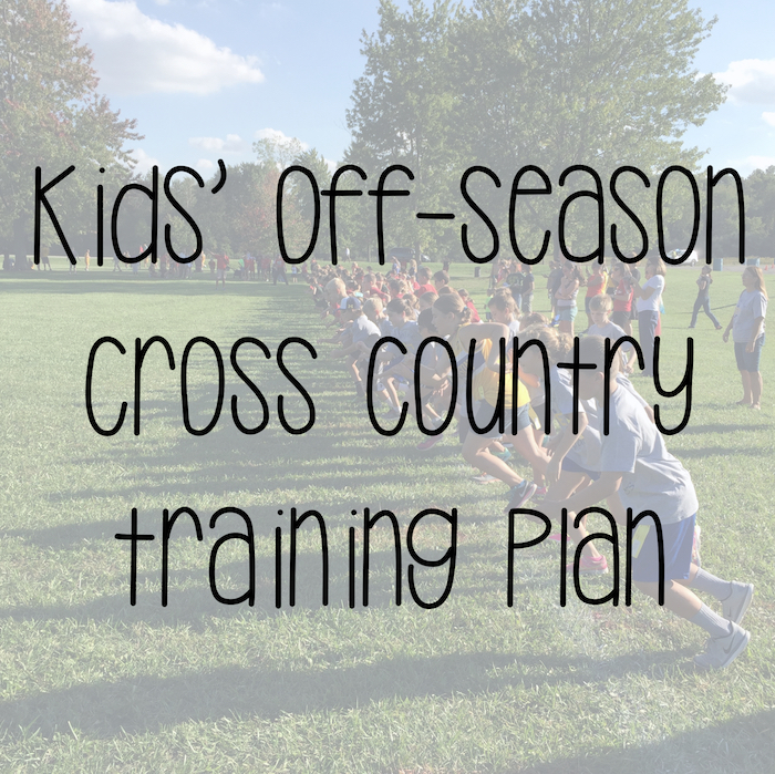 cross country training plan