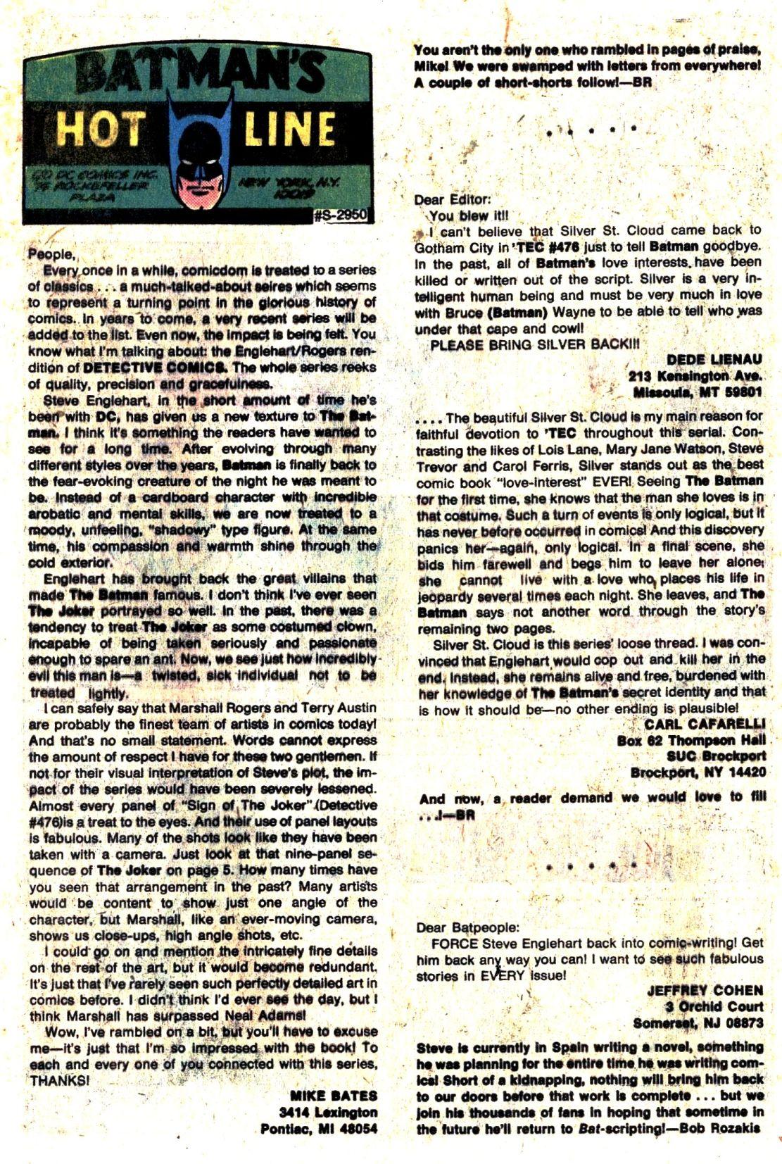 Detective Comics (1937) 479 Page 26