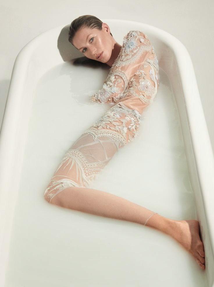 Gisele Bunchen foto para a Vogue 40 anos