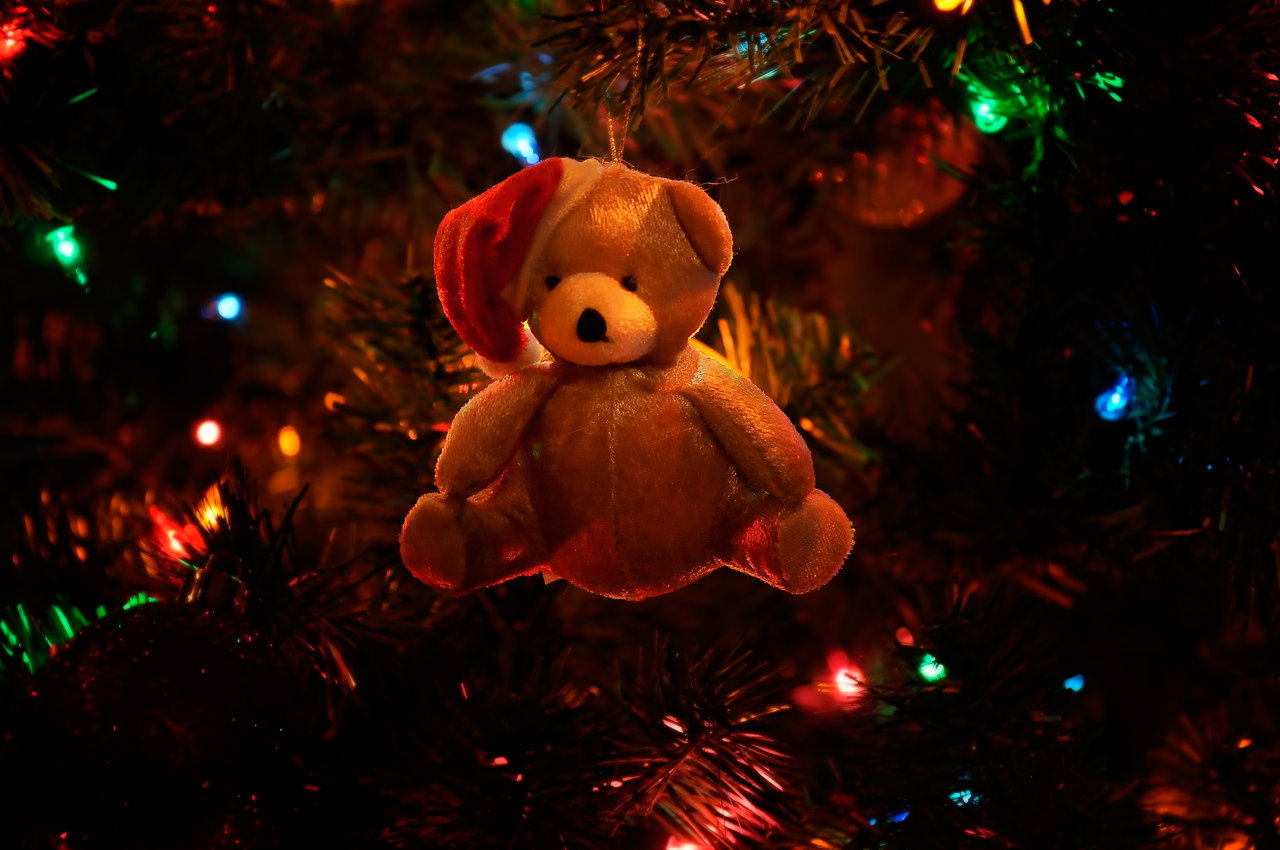 Free Wallpapers Of Cute Teddy Bears Chirstmas Free Christmas Pictures