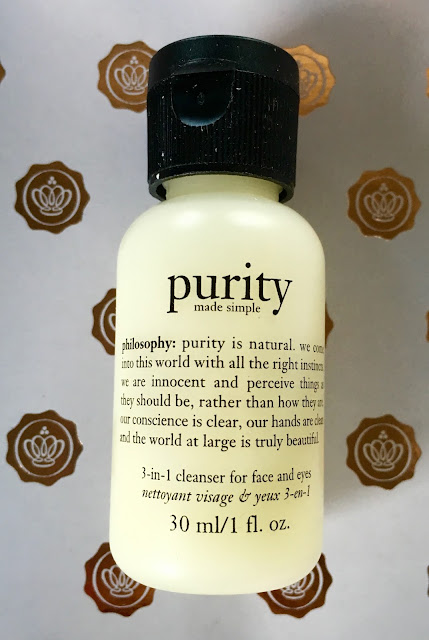 Philosophy purity 3 in 1 cleanser