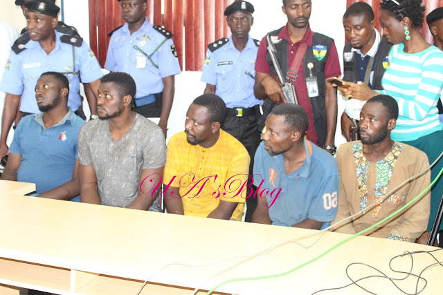 Photos Of Two More Notorious Offa Gang Robbers Paraded By Police