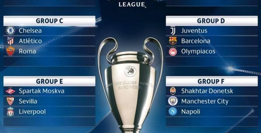 موعد مباريات دوري ابطال اوروبا 2018 قرعة دوري ابطال اوروبا 2017 Champions League