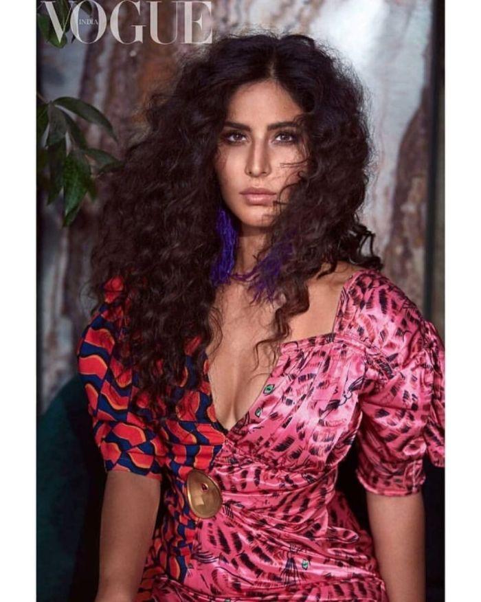 Katrina Kaif Poses For The Latest Edition Of Famous Vogue Magazine!