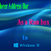 New feature:Use the Explorer address bar as a Run box in Windows 10