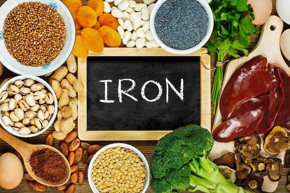 Como aumentar a absorção de ferro a partir dos alimentos