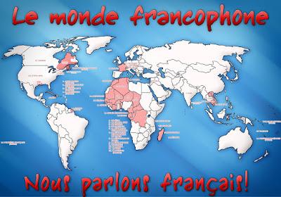países del mundo en los que se habla francés