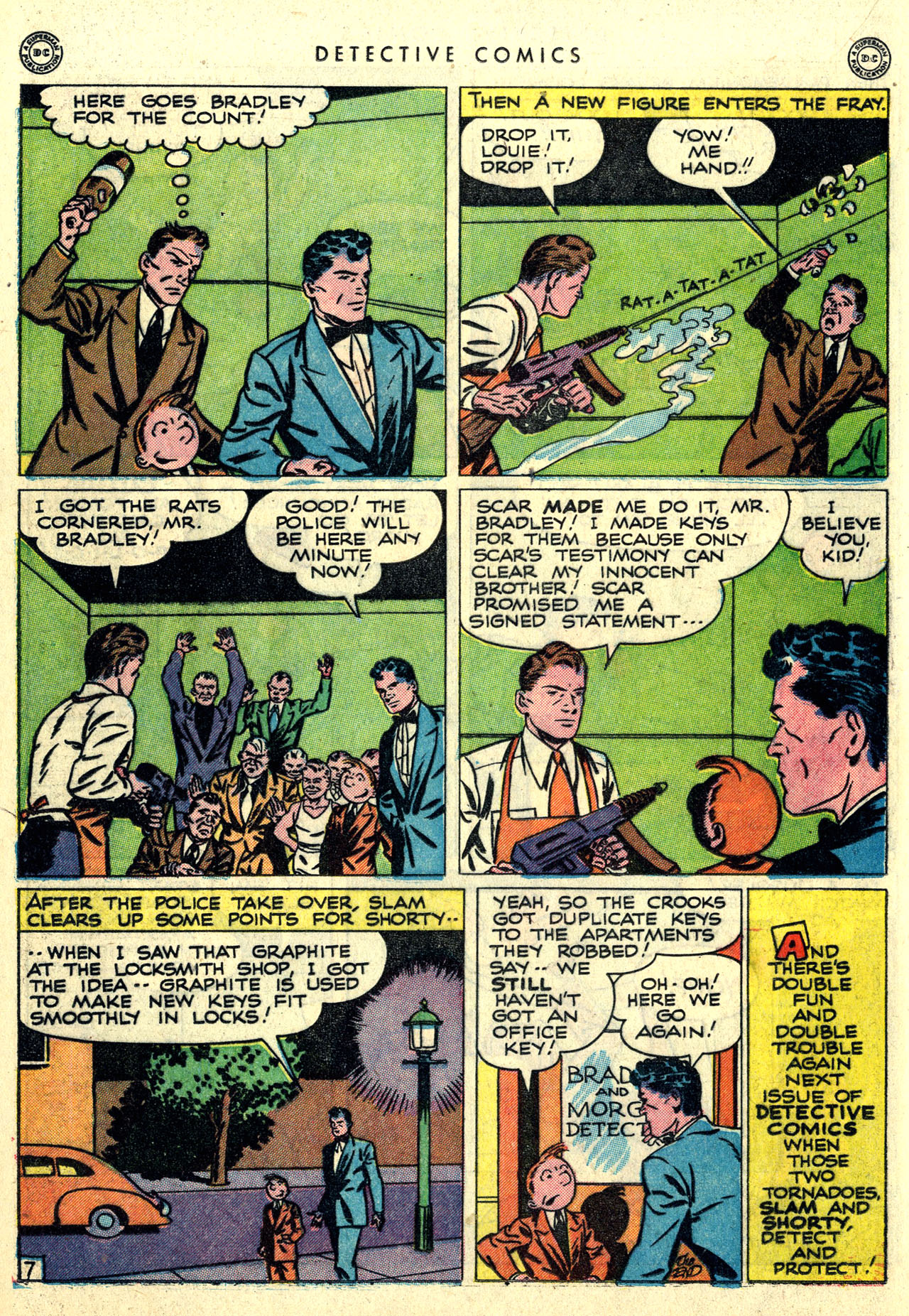 Read online Detective Comics (1937) comic -  Issue #121 - 22