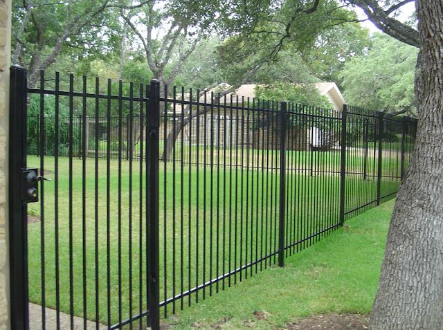 model pagar besi rumah minimalis terbaru