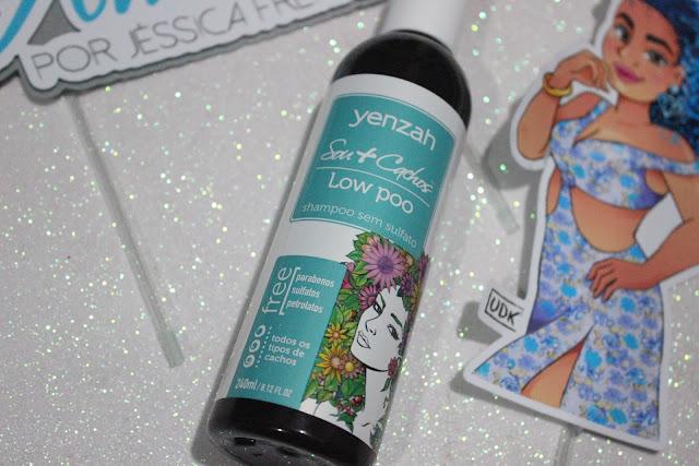Shampoo Linha Sou + Cachos Yenzah