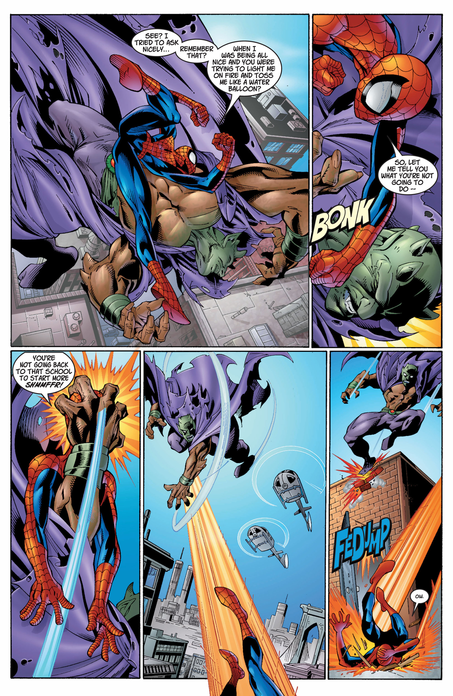 Read online Ultimate Spider-Man (2000) comic -  Issue #7 - 7