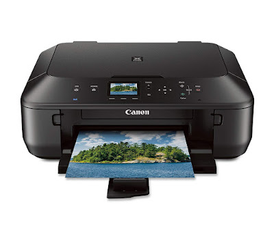 Easily impress as well as scan from your mobile devices as well as pop online cloud services alongside our  Canon PIXMA MG5520 Driver Downloads
