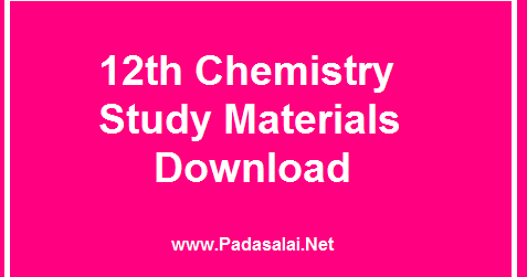 Focus Guide For 12th Chemistry Free Download