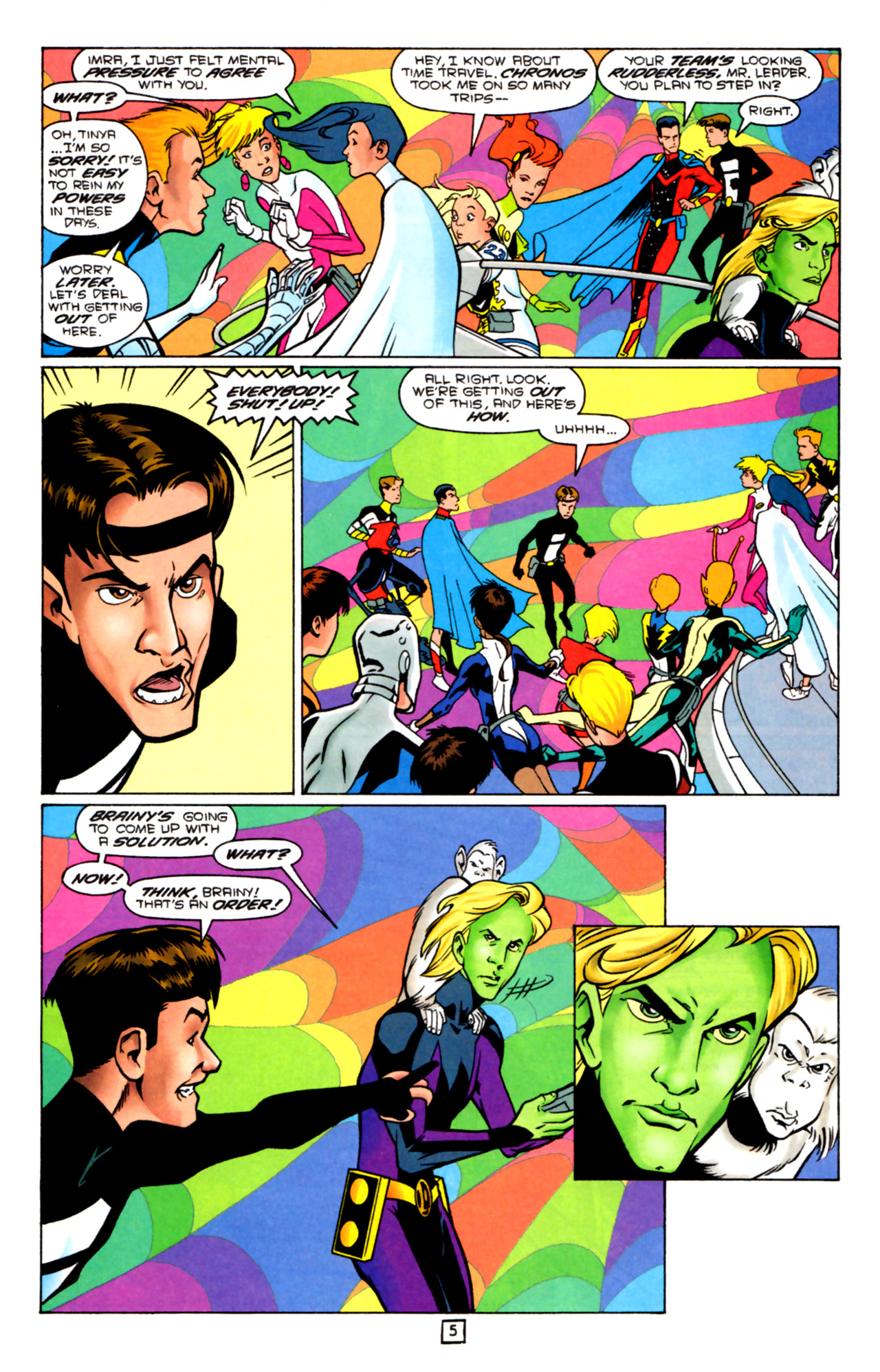 Legion of Super-Heroes (1989) 91 Page 4
