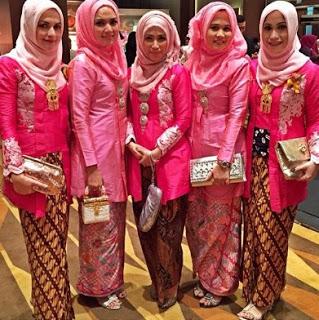 Hijab Jilbab Gambar Model Hijab Kebaya Kutu Baru Modern Simple