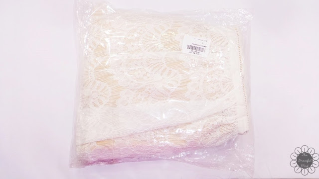 """Dressfo Review - Shipping and Delivery of """"Pure and Plain High-Waist A-Line Lace Dress"""" (www.TheGracefulMist.com)"""