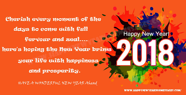 Happy New Year 2018 for Facebook