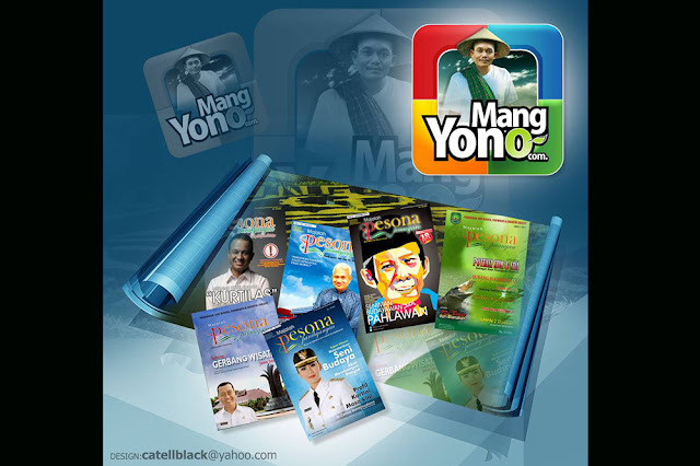 Dan sekarang Mang Mehong bekerja di majalah Pesona Parahyangan.