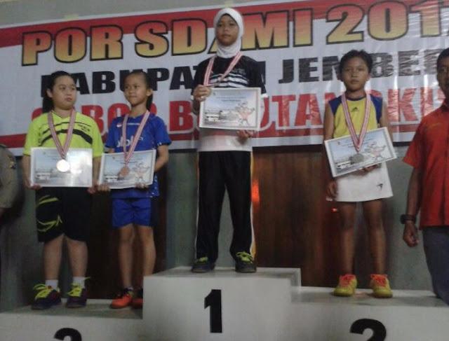 Putra-Putri SD Muhammadiyah 1 Jember Raih Emas di Ajang POR SD/MI Jember