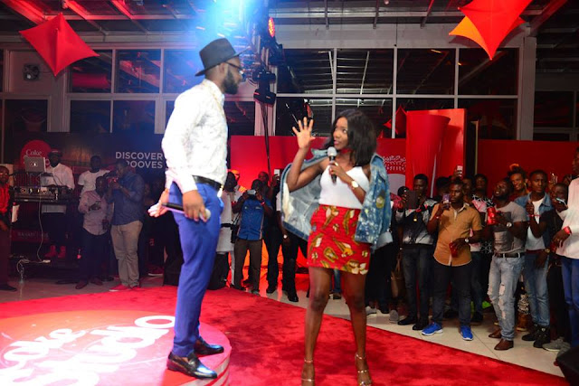 Falz and Simi thrilling the audience ,lawsonjamesblog