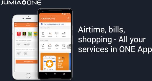 Enjoy 50% Airtime Bonus Using JumiaOne App