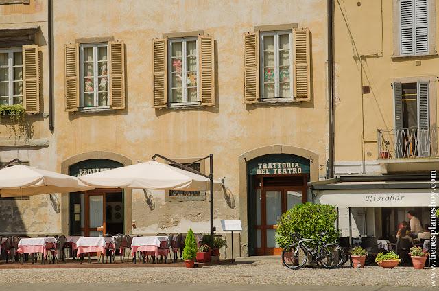 Viajar a norte de Italia Bergamo