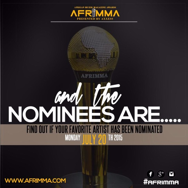 AFRIMMA AWARDS 2015